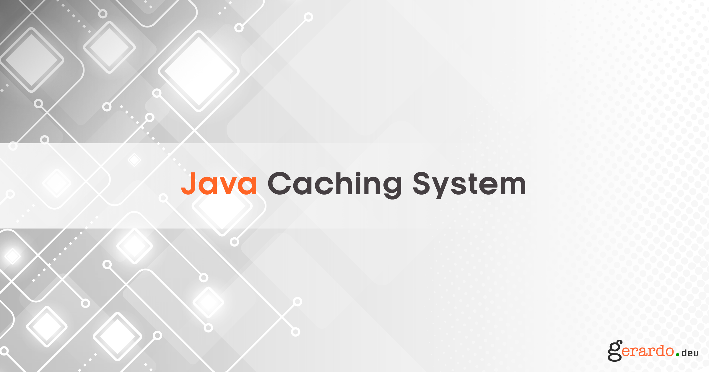 Java Caching System