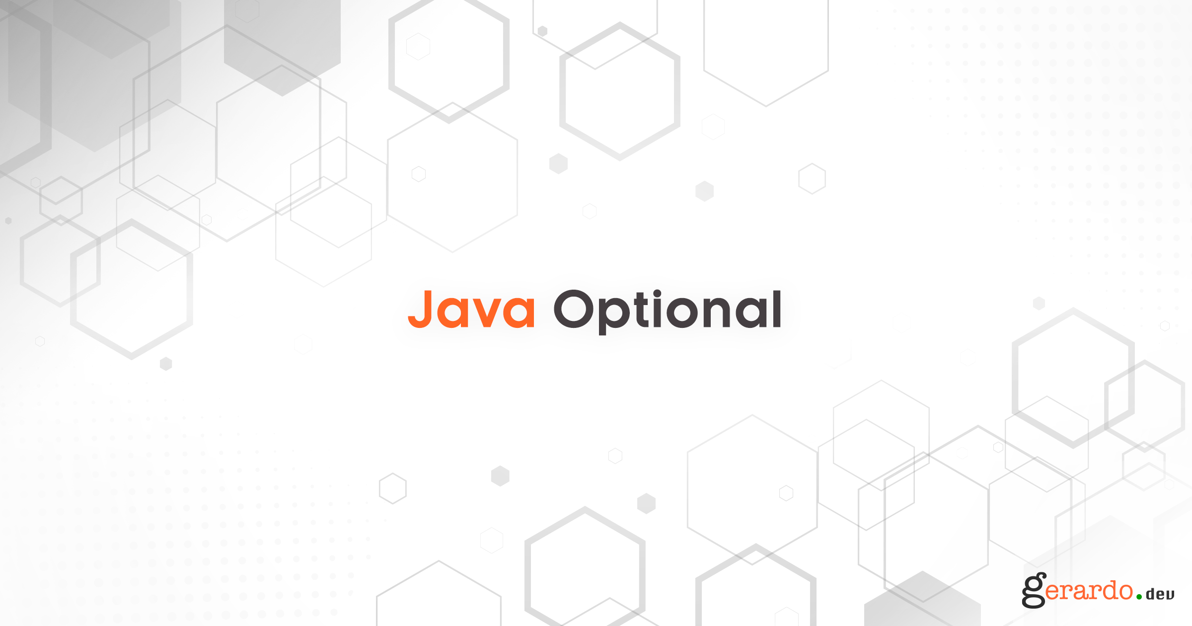 Java Optional