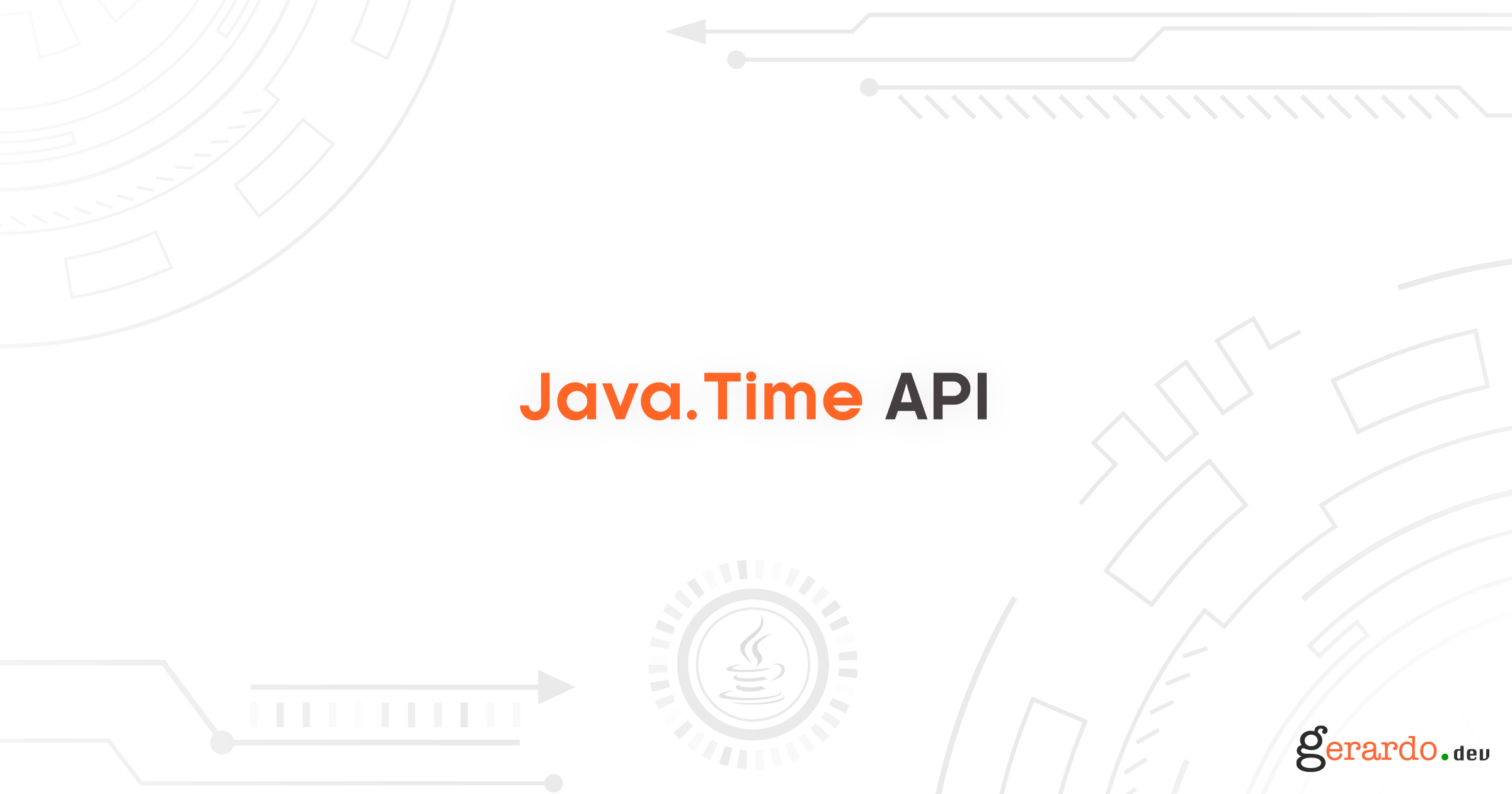 Usando el Java.Time API